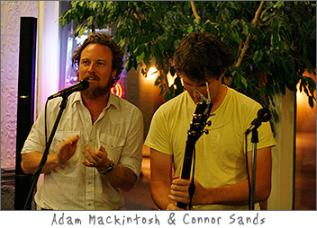 Adam Mackintosh and Connor Sands at Kavarna Green Bay, WI