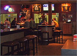 Interior of The Bar East on Lime Kiln in Green Bay, WI