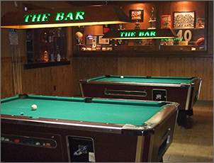 Pool at The Bar East on Lime Kiln in Green Bay, WI