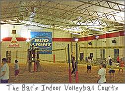 Indoor Volleyball at The Bar East on Lime Kiln in Green Bay, WI
