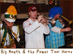 Big Mouth & the Power Tool Horns at Jimmy Seas Restaurant and Bar in Green Bay, Wisconsin