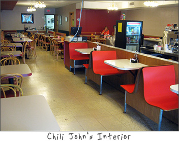 Interior Photo of Chili Johns Green Bay, WI