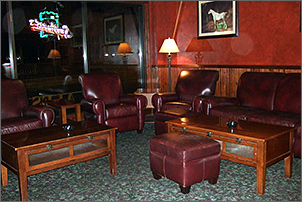 Lounge at the Cock and Bull in Green Bay, WI