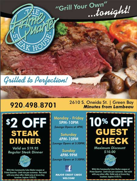 Prime steakhouse coupons
