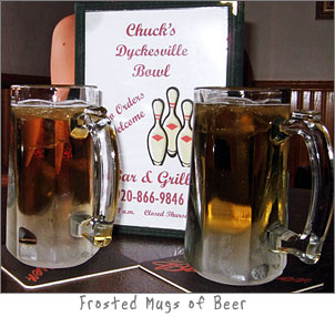 Frosted Mugs of Beer Dyckesville Bowls in Dyckesville, Wisconsin