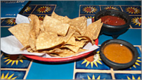 Tortilla Chips at El Maya in De Pere, WI