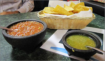 Chips and Salsa El Sarape in Green Bay, WI