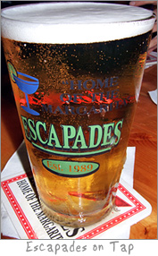 Beer on Tap at Escapades Green Bay, WI