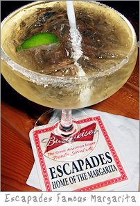 Famous Home of the Margarita at Escapades Green Bay, WI