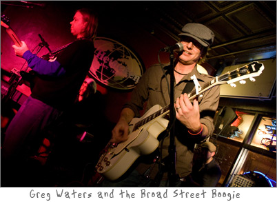 Band Review - Greg Waters and the Broad Street Boogie at Mug Shots in De Pere, Wisconsin
