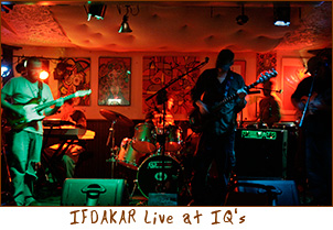 IFDAKAR Live at IQ's in Green Bay, Wisconsin