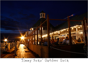 Outdoor Deck at Jimmy Seas Green Bay, WI