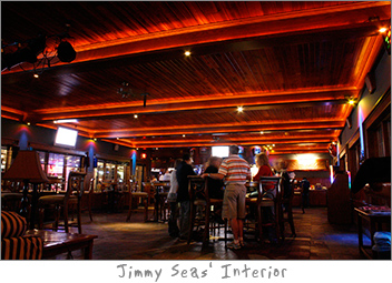 Interior of Jimmy Seas Green Bay, WI