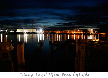 Jimmy Seas Bar Outdoor View in Green Bay, WI