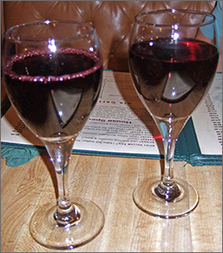 Wine at Little Tokyo in Green Bay, WI