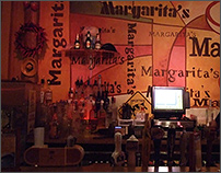 Bar at Margaritas in Green Bay, WI