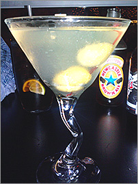Martini at The Nines in Green Bay, WI