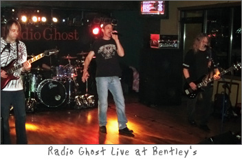 Radio Ghost Live at Bentley's in Green Bay, Wisconsin