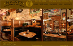 Cheap Web Design in Green Bay, Wisconsin for Restaurant Bars and Clubs - Nicky's