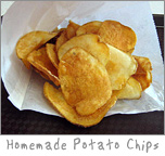 Potato Chips at Zestys Frozen Custard and Grill in Green Bay, WI