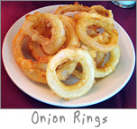 Onion Rings at Ziggy's Green Bay, WI